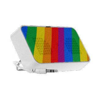 Gay Pride-Streifen Reise Lautsprecher