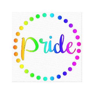 Gay Pride-Wand-Kunst Leinwanddruck