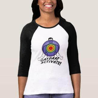 Gaydar! Aktivieren Sie! Regenbogen-Homosexuelles T-Shirt