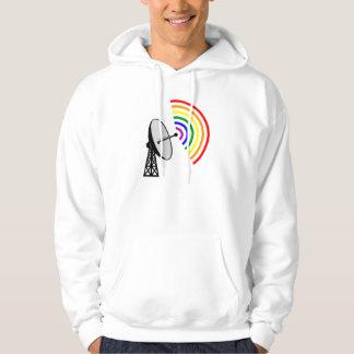 Gaydar homosexuelles Radar Regenbogen-LGBT Hoodie