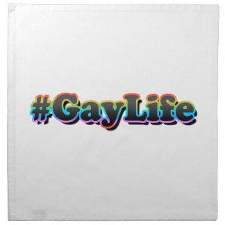 #GayLife Stoffserviette
