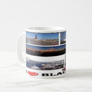 GB England - Blackpool - Kaffeetasse