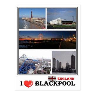 GB England - Blackpool - Postkarte