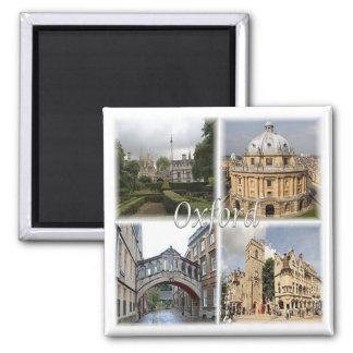 GB * England - Oxford England Quadratischer Magnet