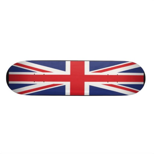 GB-FLAGGE PERSONALISIERTES SKATEBOARDDECK