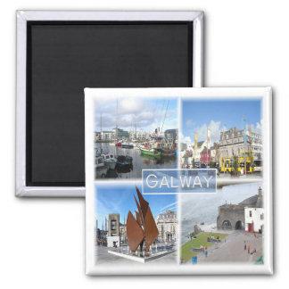 GB * Nordirland - Galway Quadratischer Magnet