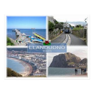 GB Vereinigtes Königreich - Wales - Llandudno - Postkarte