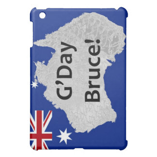 G'Day Bruce australischer Logo iPad Fall iPad Mini Hülle