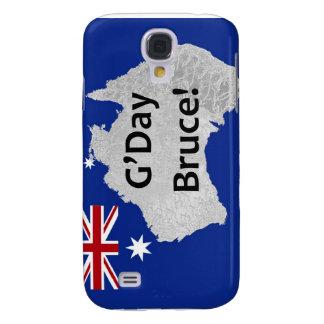 G'Day Bruce australischer Logo iPhone Fall Galaxy S4 Hülle
