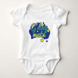 G'DAY Kamerad-australischer Gruß hallo Baby Strampler