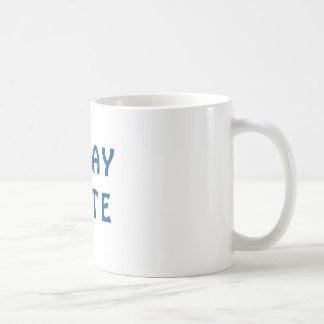 Gday Kamerad-Blau Kaffeetasse