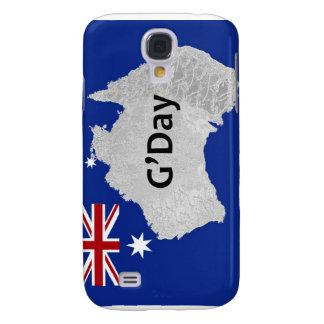 G'Day Logo australischer iPhone Fall Galaxy S4 Hülle