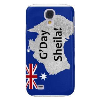 G'Day Sheila australischer Logo iPhone Fall Galaxy S4 Hülle
