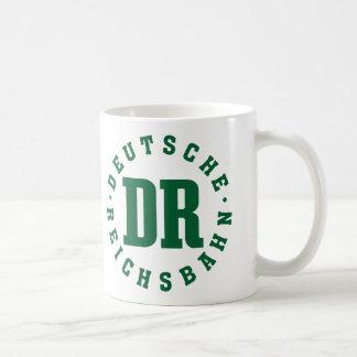GDR / DDR Railway - Deutsche Reichsbahn Sign Kaffeetasse