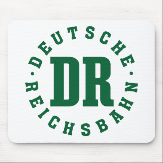 GDR / DDR Railway - Deutsche Reichsbahn Sign Mousepad