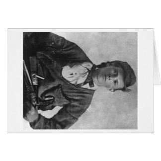 Geächtete Jesse James Porträt-Fotografie Karte