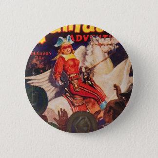Geächtete Königin von Venus Runder Button 5,7 Cm