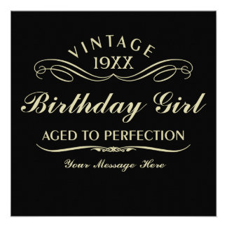 Gealtert zum Perfektions-lustigen Geburtstag