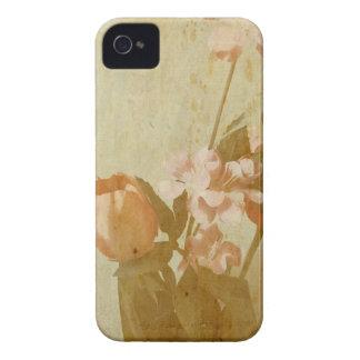 Gealterte Blumen Case-Mate iPhone 4 Hülle