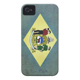 Gealterte Delaware-Flagge iPhone 4 Etuis