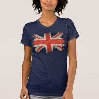 Gealterter zerrissener Gewerkschafts-Jack T-Shirt