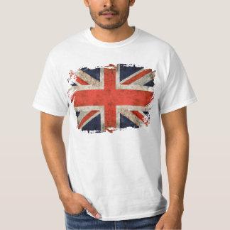 Gealterter zerrissener Gewerkschafts-Jack T-Shirts