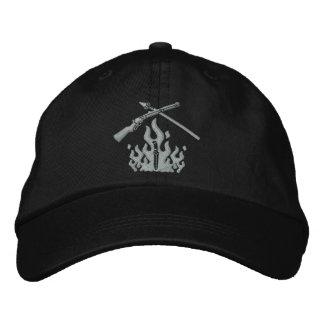 Geändertes Logo stickte den 6 Platten-Hut Bestickte Baseballkappe