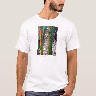 Geätzter Bambus T-Shirt