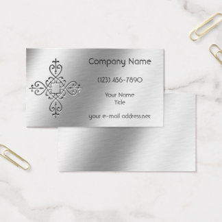 Geätztes Aluminium Visitenkarte