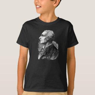 Geätztes Porträt von Montesquieu durch Emile T-Shirt