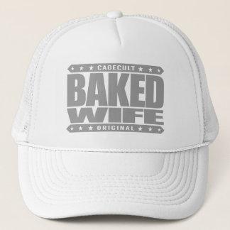 GEBACKENE EHEFRAU - Schokoladenkuchen-Bäcker Truckerkappe