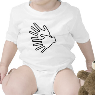 Gebärdenspracheikone Hemd
