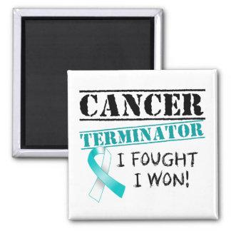 Gebärmutterkrebs-Abschlussprogramm Quadratischer Magnet