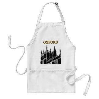 Gebäude 1986 Oxfords England windt sich Schwarzes Schürze