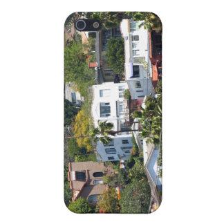Gebäude auf dem Berg iPhone 5 Hülle