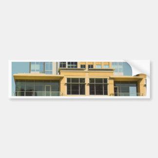 Gebäude Auto Sticker