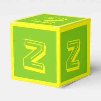 Gebäude-Block-Kasten des Buchstabe-Z durch Janz Geschenkschachtel