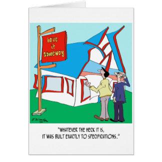 Gebäude-Cartoon 9233 Karte