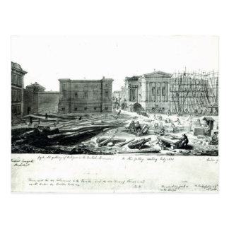 Gebäude die neue Galerie des britischen Museums Postkarte