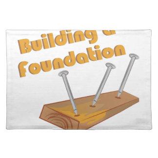 Gebäude eine Grundlage Tischsets