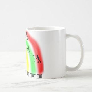 Gebäude-einregenbogen Kaffeetasse