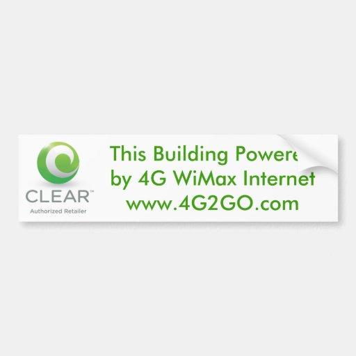 Gebäude-Power Autosticker