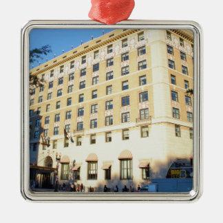 Gebäude Silbernes Ornament