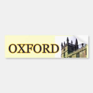 Gebäude-Spiralen 1986 Oxfords England 1 Autoaufkleber