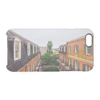 Gebäude und Palmen in New Orleans Durchsichtige iPhone 6/6S Hülle
