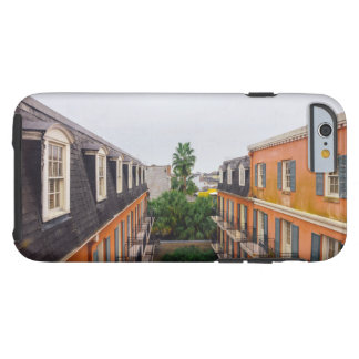 Gebäude und Palmen in New Orleans Tough iPhone 6 Hülle