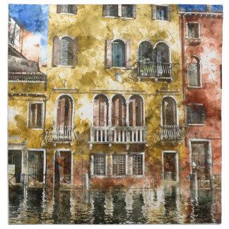 Gebäude Venedigs Italien Serviette