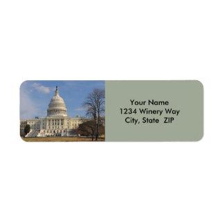 Gebäude Washington DCs der Capitol Hill