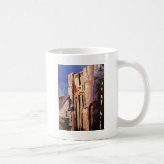 Gebäudemalerei Kaffeetasse