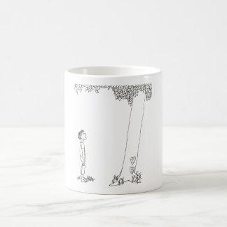 Geben des Baums Kaffeetasse